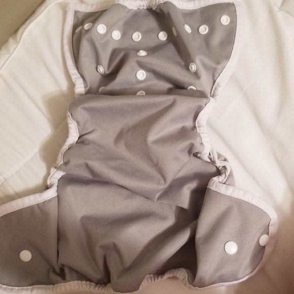 Thirsties Other - Thirsties grey diaper cover